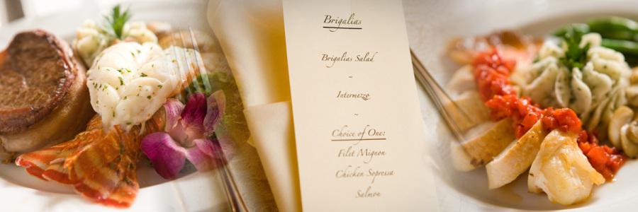 brigalias menu